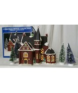 Christmas Avenue Collection 1993 Church Ruey Perng Design w/ trees - $39.59