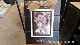 Mr and Mrs Wedding Photo Frame - $45.00