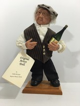 Debbie McIntire sculpted/handcrafted Gentlemen with Champagne Doll - $62.37