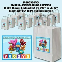 Pocoyo Sticker Party Favors Supplies Label Stickers ONLY 12PCS - $16.78