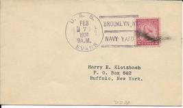 EVANS (DD-78) 7 Feb 1931 Locy Type 3s Brooklyn Navy Yard - $3.47