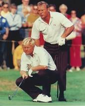Jack Nicklaus Arnold Palmer PL Vintage 16X20 Color Golf Memorabilia Photo - $30.95