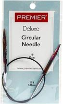 "Premier Fixed Circular Knitting Needles 16""-Size 9/5.5mm - $12.99"