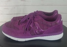 Saucony Kids Jazz Lite Sneaker Little Girl's Size 4M, Purple - $44.99