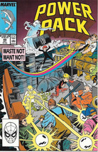Power Pack Comic Book #49 Marvel 1989 VERY FINE NEW UNREAD - $2.25