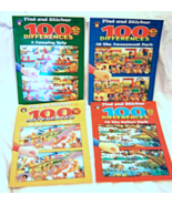 New Find and Sticker 100 Differences Camping Safari Amusement Water Set ... - $99.99