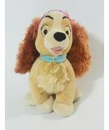 "Disney Plush Lady Stuffed Animal Dog Lady And The Tramp 15"" - $19.39"