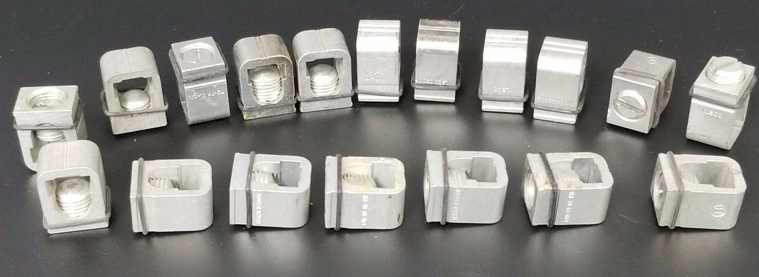 LOT OF 18 NEW SIEMENS LN1-E100 WIRE GRIP / LUG KITS LN1E100