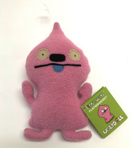"Uglydoll Little Uglys Flatwoodsey Pink New with Tags 8"" - $24.74"