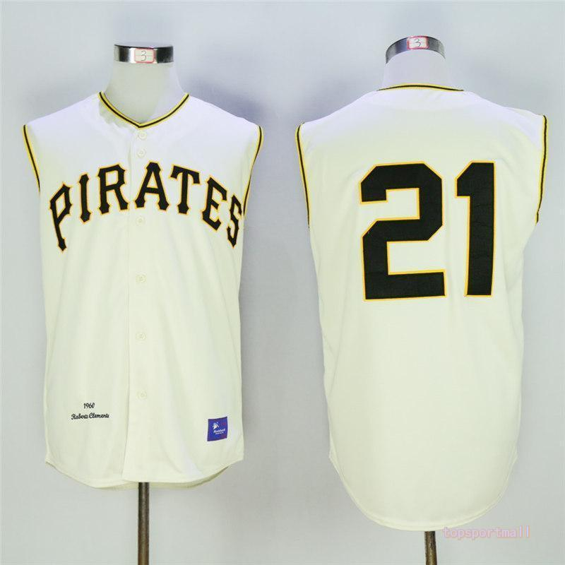 dee1bb494 official mlb jerseys pittsburgh pirates 21 roberto clemente cream ...