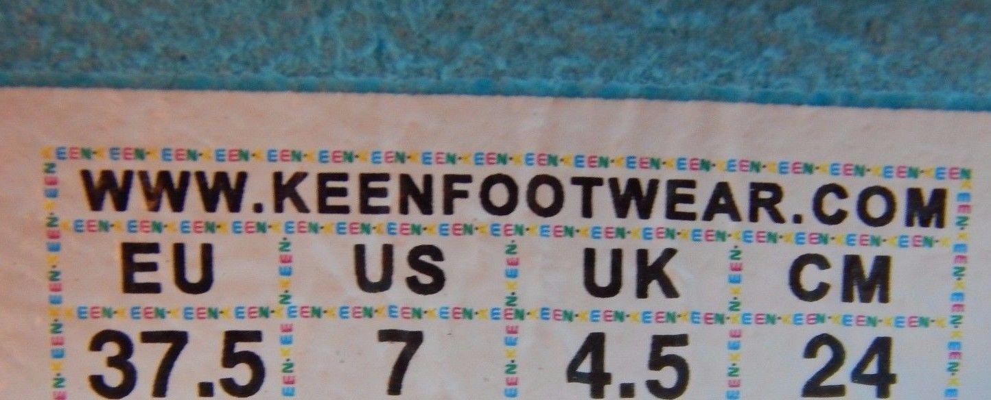 Keen Uneek 3 Color Women's Sports Sandals Sz US 7 M (B) EU 37.5 CAPRI /PERWINKLE