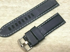 23MM RUBBER WATCH BAND WATER SPORTS REPLACES LUMINOX AND OTHER - $13.44