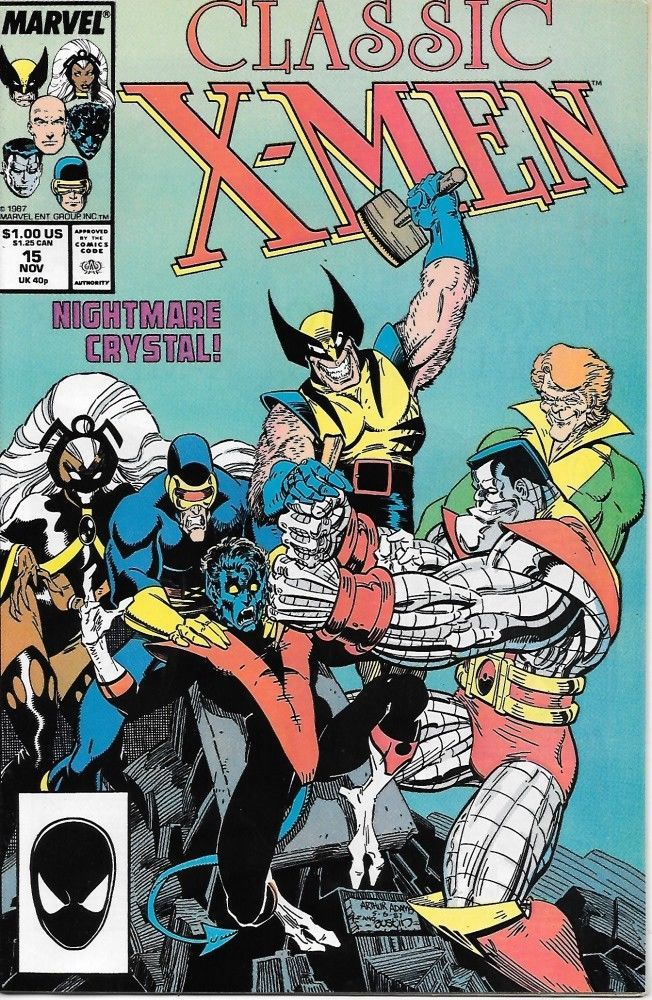 Primary image for Classic X-Men Comic Book #15 Marvel Comics 1987 VERY FINE+ NEW UNREAD
