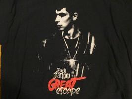 The Great Escape Zach Farlom T Shirt Size L - $1.99