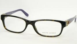 New Ralph Lauren Rl 6106Q 5003 Dark Havana Eyeglasses Frame RL6106Q 53-17-140mm - $32.71