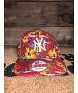 New York Yankees New Era Spring Training Floral Snapback Cap Rare flower... - $24.75