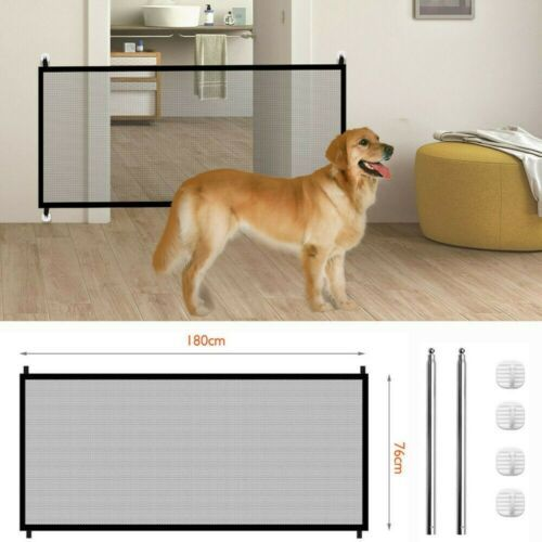 Primary image for Dog Barrier Magic Mesh Pet away Safe Guard Fence Enclosure Easy Install