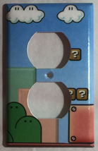 Super Mario Game background Light Switch Outlet Wall Cover Plate Home decor image 2