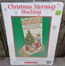 Dimensions Christmas Morning Stocking Counted Cross Stitch Kit # 8429 Un... - $65.00