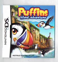 Puffins Island Adventure Instruction Manual Nintendo DS - $5.00