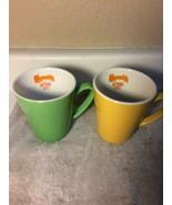 (2) KAHLUA COFFEE MUGS--ANYTHING GOES--1999--FREE SHIP--VGC - $20.87