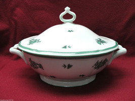 ROSENTHAL CHIPPENDALE CHINA - GREEN BLOOM Pattern - COVERED SERVING DISH - $31.95
