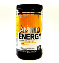 Optimum Nutrition Amino Energy Pineapple 270g Intense Energy Focus Caffeine  - $23.03