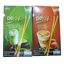 Glico Pejoy Biscuits Stick with Matcha Latte Caramel Macchiato Flavour D... - $3.94+