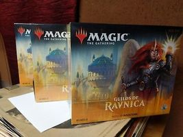 MTG Magic The Gathering Guilds of Ravnica Bundle Box 10 Booster Packs - $32.50