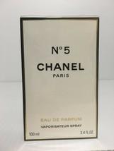 Chanel No 5 Perfume For Women Edp Spray 3.4 Oz / 100 Ml New In Sealed Box - $116.78