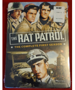 THE RAT PATROL: THE COMPLETE FIRST SEASON- 4 DVD SET- NEW- FREE SHIPPING - $12.99