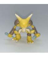 ALAKAZAM Pokemon TOMY Mini Figure - VINTAGE GENUINE OFFICIAL - $13.76