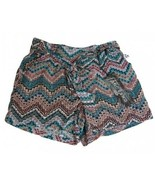 One 5 One Bohemian Front-Tie Elastic Pull-on Shorts - Size S MSH13729Z-RO - $15.51