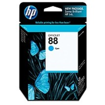 HP Officejet C9386AN 88 Ink Cartridge - 860 Pages - Cyan - $24.66