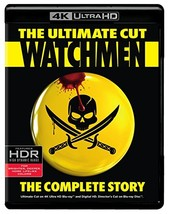 Watchmen Ultimate Cut (4K Ultra HD + Blu-ray) (2017)  - $16.95