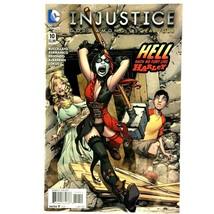 Injustice Gods Among Us Year Four #10 DC 2015 NM Harley Quinn Wonder Wom... - $3.91