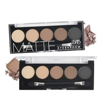 5 Color Brand Eyeshadow Palette Makeup Colorful Matte  Eyeshadow Lasting... - $15.30