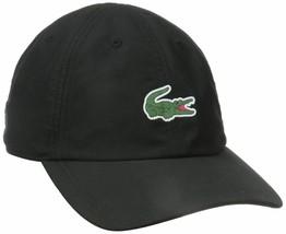 New Lacoste Men's Premium Classic Croc Logo Sport Polyester Adjustable Hat Cap image 2