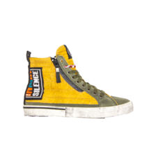 DIESEL D-Velows Mid Patch Mens Fashion Sneaker Size 9 - $140.24