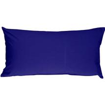 Pillow Decor - Caravan Cotton Royal Blue 9x18 Throw Pillow - $16.95