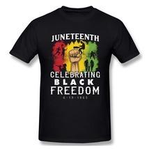 Juneteenth Black Freedom June 19th 1867 Cotton T shirt man ( 50% off ) - £13.59 GBP