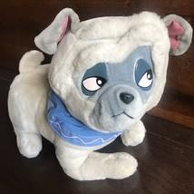 Vtg Percy Pocahontas Dog Plush Disney Resorts WDW Puppy Stuffed Animal L... - $17.77