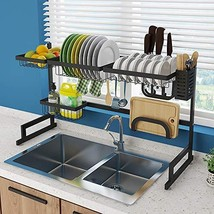 Whifea Dish Drying Rack, Kitchen Storage Shelf Over Sink, Stainless Stee... - $120.25