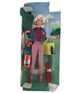 1997 Coca Cola Coke Picnic Barbie Doll Collector Special Edition Pink Label - $13.96