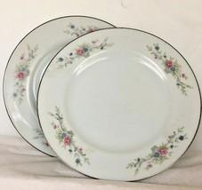 "Dessert Plates Florenteen Fantasia Japan Fine China 6 1/8""dia  Lot of 2... - $11.87"