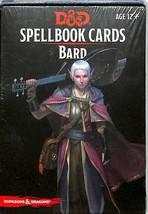 D&D Spellbook Cards Bard   - $14.84