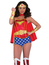 Rubie's Women's DC Comics Wonder Woman Accessory Kit Tiara Belt with Las... - $44.41