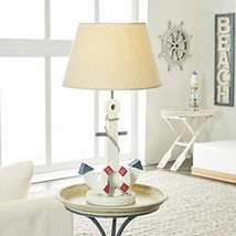 """Deco 79 28755 Wood Anchor Table lamp 23"""" H"""