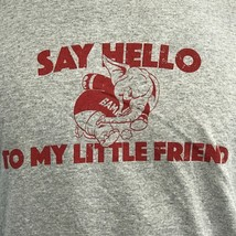 Ladies XL Say Hello To My Little Friend Gray T-Shirt Alabama Crimson Tide - $10.00