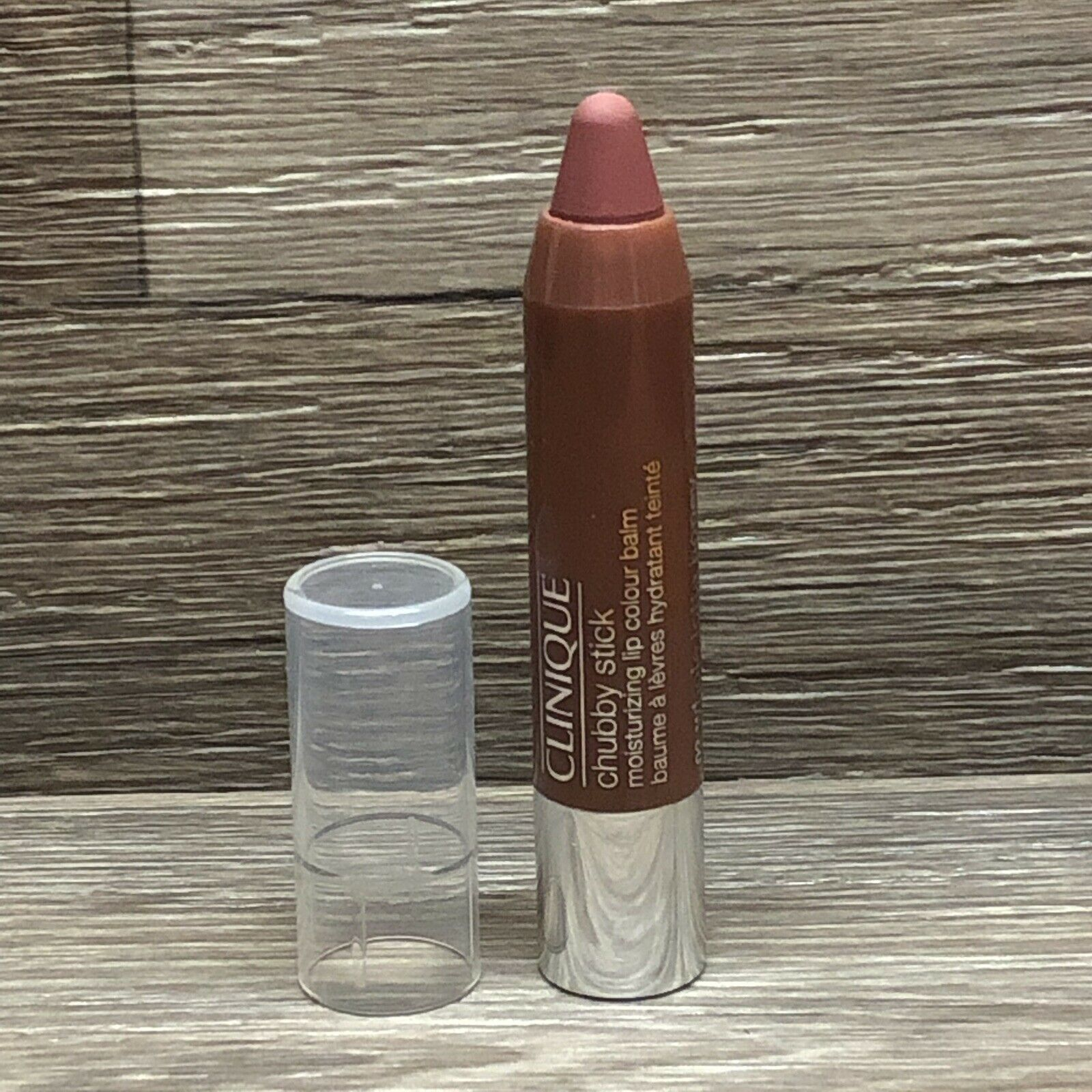 Primary image for Clinique Chubby Stick Moisturizing Lip Colour Balm 02 Whole Lotta Honey Travel